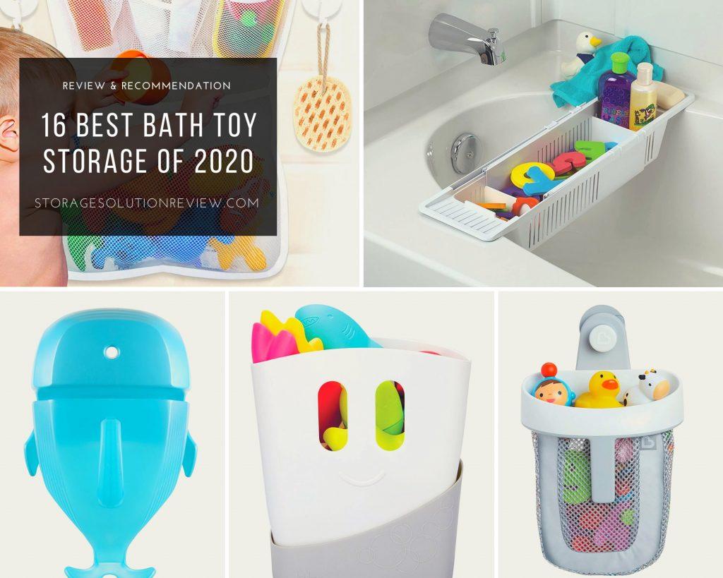 best bath toy holder