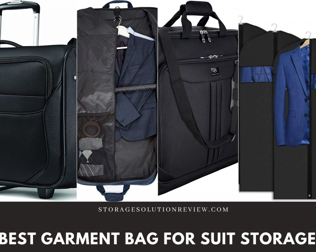 best garment bag for suit storage