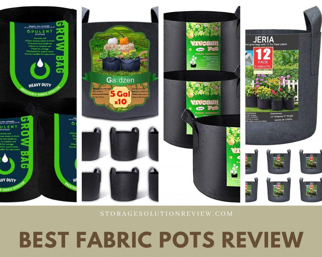 best fabric pots