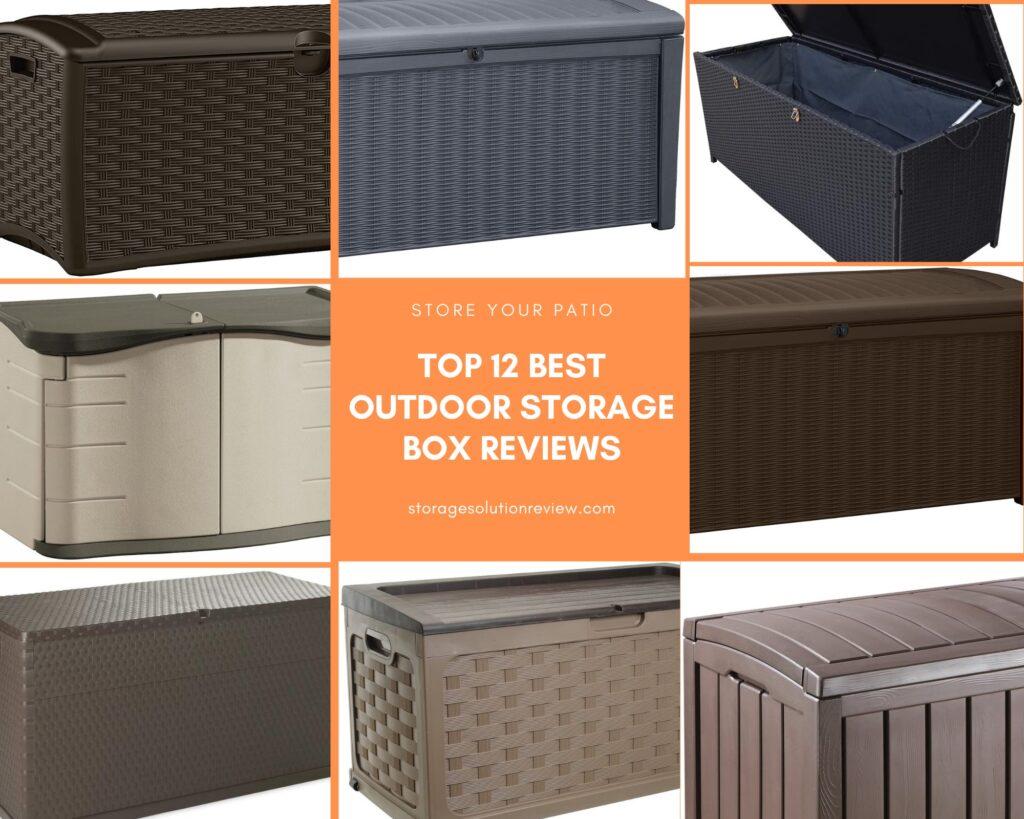 best waterproof outdoor deck box